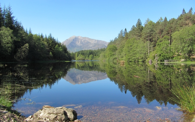 great walking is available arounf the village of Glencoe